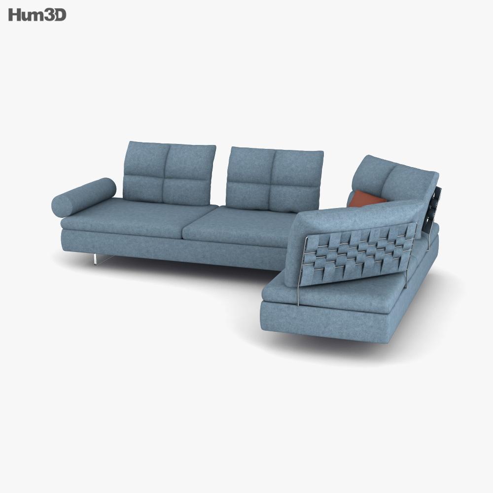 Saba Limes Sofa 3D model