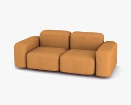 Sarah Ellison Muse Sofa 3D model