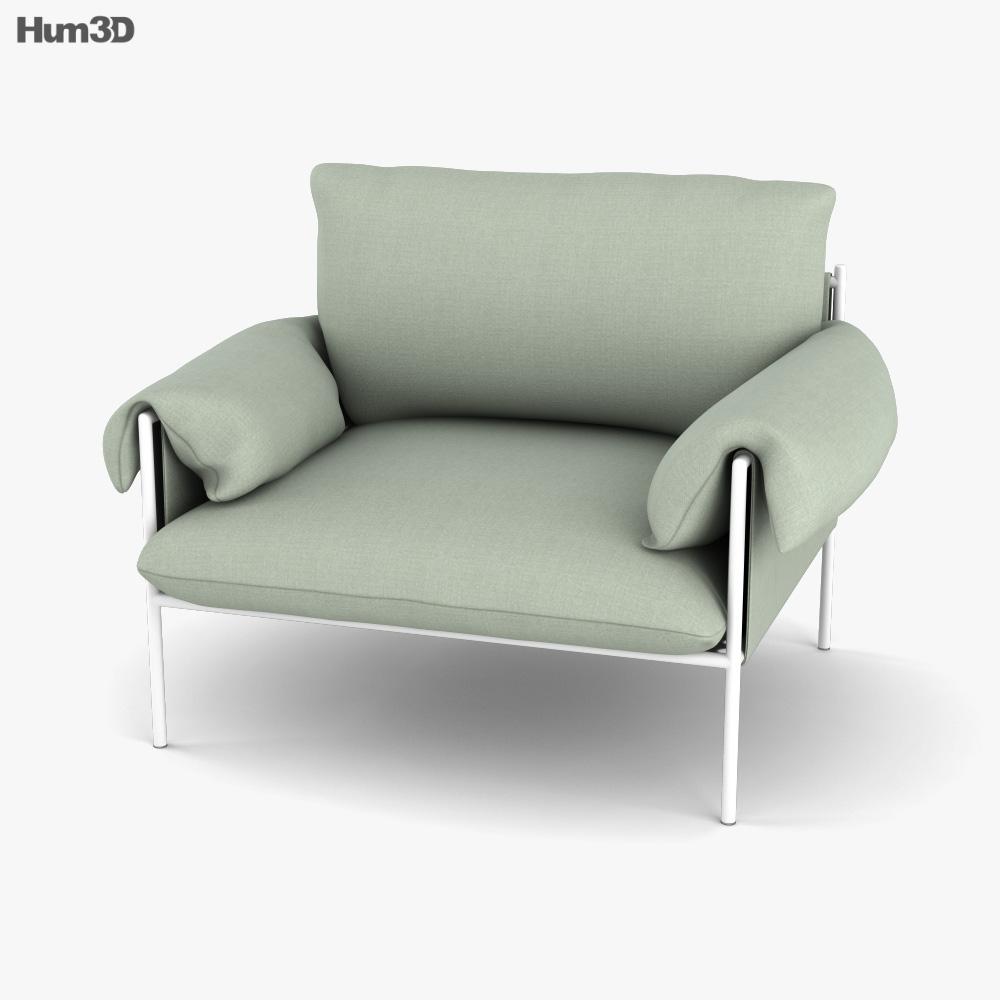 Sarah Ellison Alva Chair 3D model