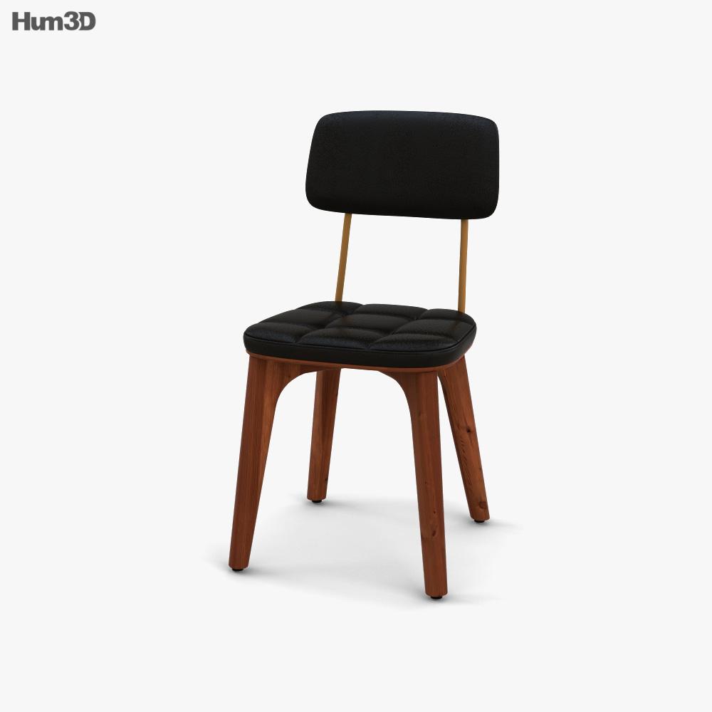 Stellar Works Utility U Chair 3D model