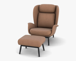 Theca Padova Chair 3D model