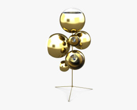 Tom Dixon Mirror Ball Stand Floor lamp 3D model