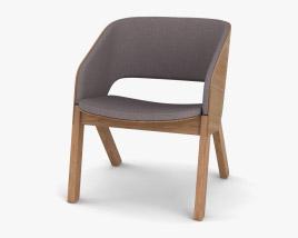 Ton Merano Lounge armchair 3D model