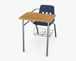 Virco Desk School chair 3D model
