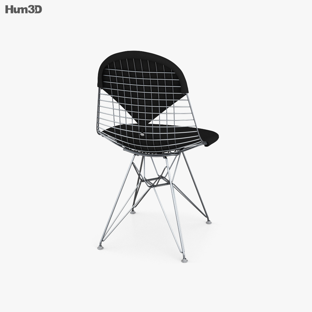 Vitra Wire Chair 3d model