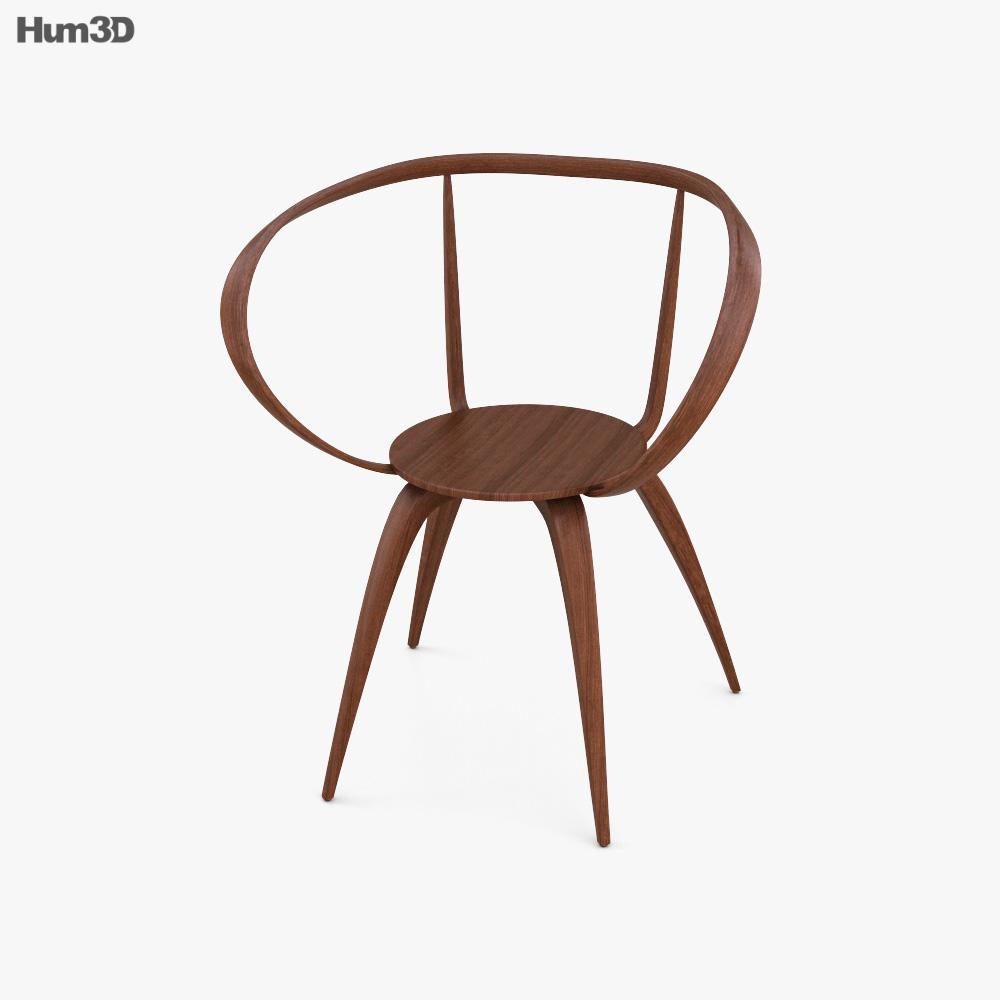 Vitra Pretzel Chair 3d model