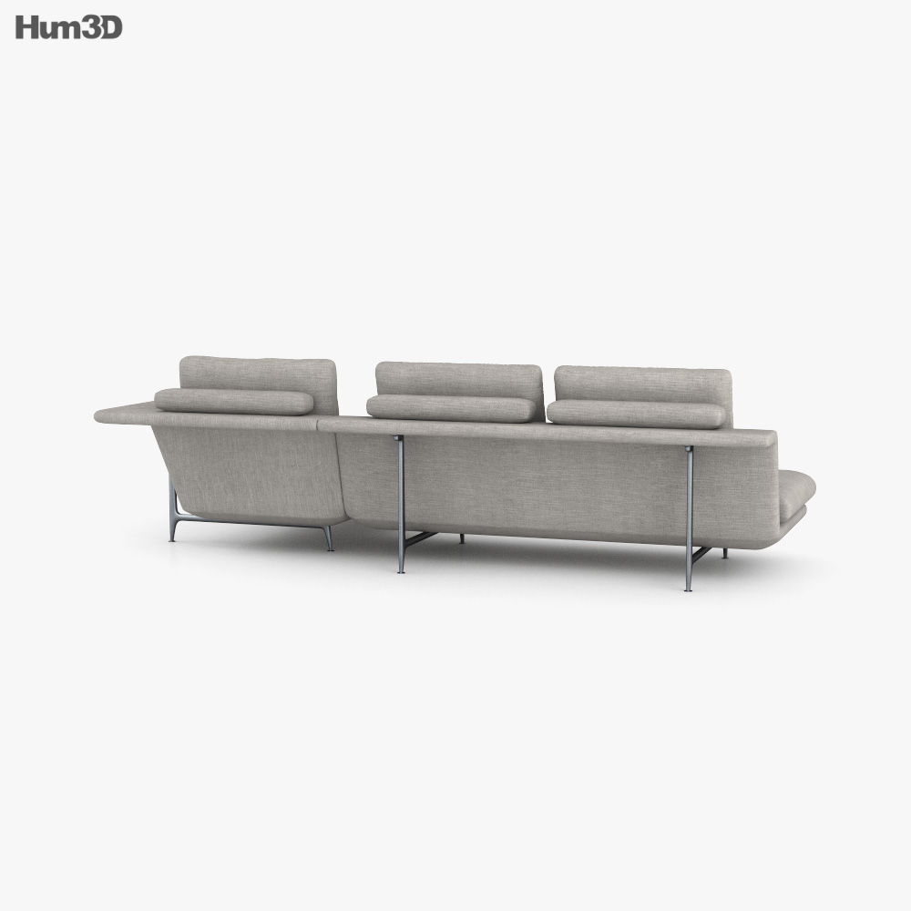 Vitra Grand Sofa 3d model