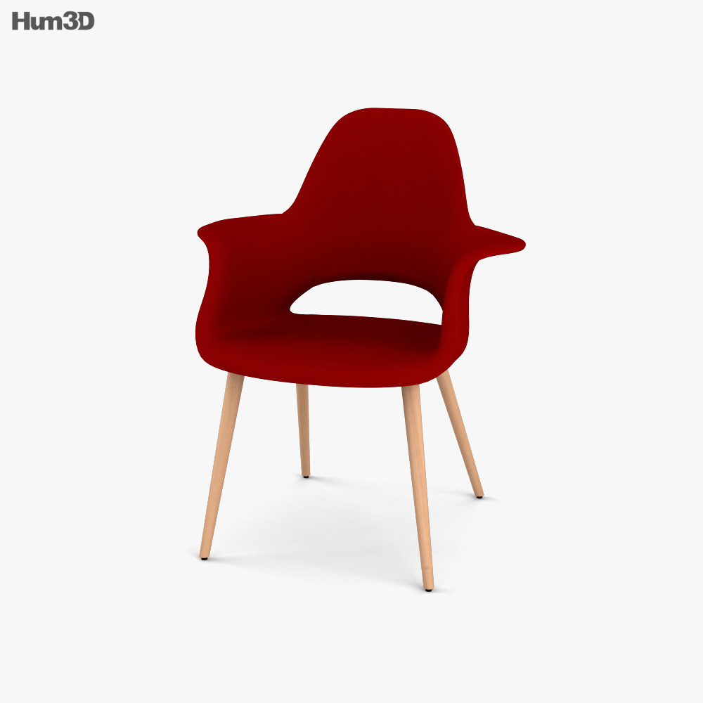 Vitra Organic Conference Chair 3D model