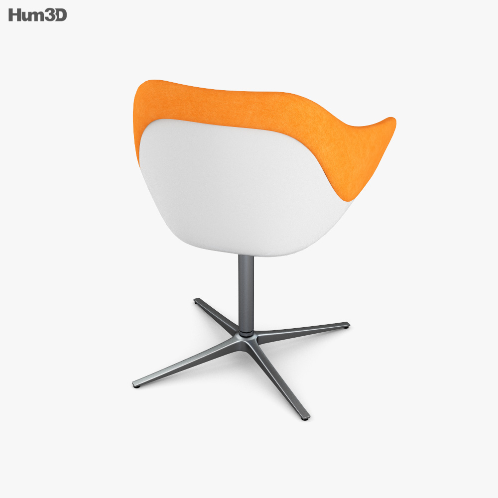 Walter Knoll Turtle Chair 3d model