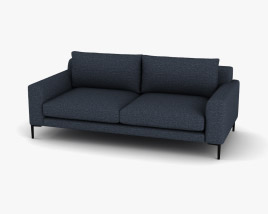 West-Elm Harper Sofa 3D model