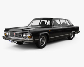3D model of GAZ 14 Chaika 1976