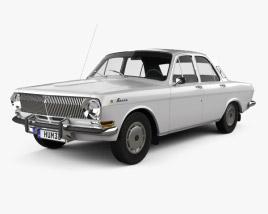GAZ 24 Volga 1967 3D model
