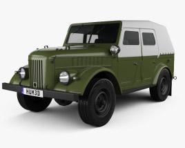 GAZ 69A 1953 3D model