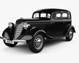 3D model of GAZ M1 1936