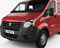 GAZ Gazelle Next Double Cab Flatbed Truck 2013 3d model
