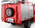GAZ Gazelle Next Fire Truck 2017 3d model