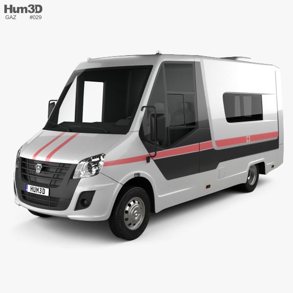 GAZ Gazelle Next Ambulance 2018 3D model