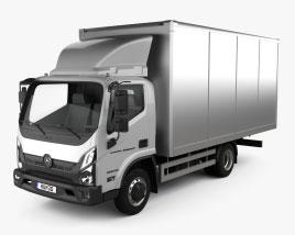 GAZ Valdai NEXT Box Truck 2020 3D model