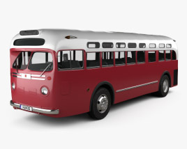 GM Old Look transit bus 1953 3D model