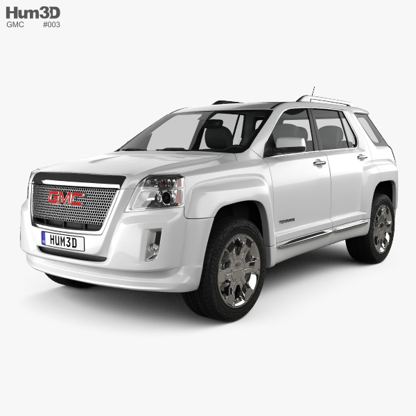 3D model of GMC Terrain 2010