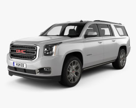 3D model of GMC Yukon XL 2014