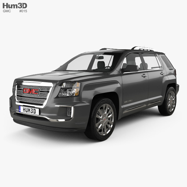 3D model of GMC Terrain Denali 2016