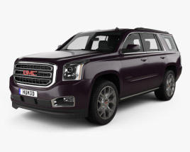 3D model of GMC Yukon 2014