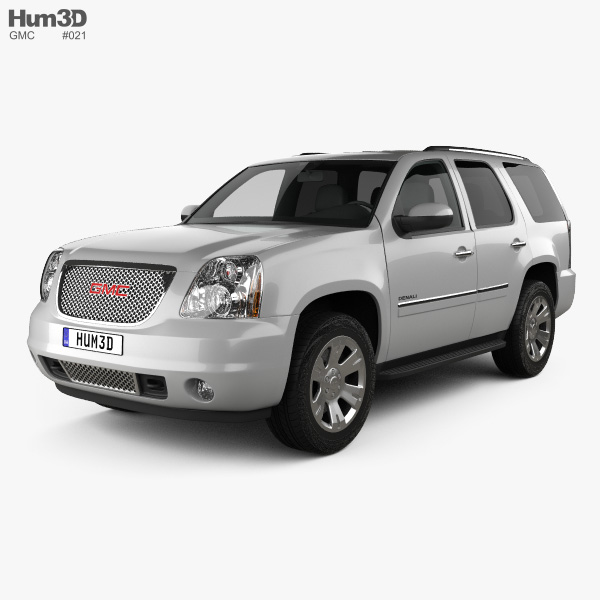 3D model of GMC Yukon Denali 2012