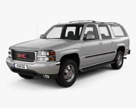 3D model of GMC Yukon XL 2000