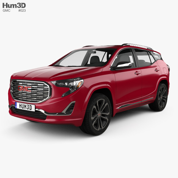 3D model of GMC Terrain Denali 2017
