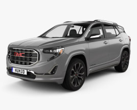 3D model of GMC Terrain SLT 2017