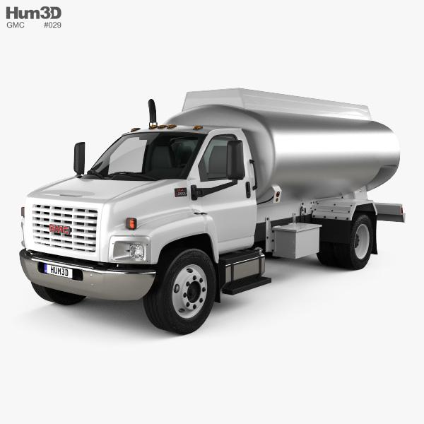 GMC Topkick C8500 Regular Cab Tanker Truck 2004 3D model