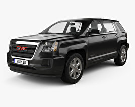 3D model of GMC Terrain SLE-1 2016