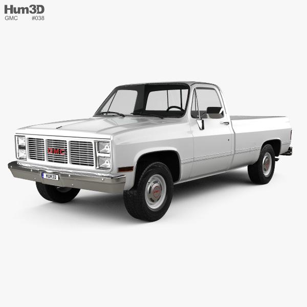 GMC Sierra 1985 3D model