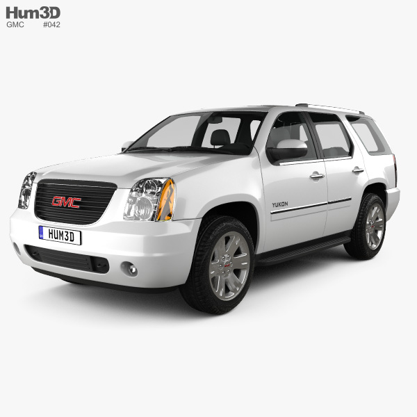 3D model of GMC Yukon 2012