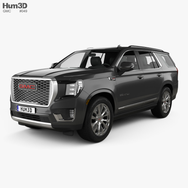3D model of GMC Yukon Denali 2021