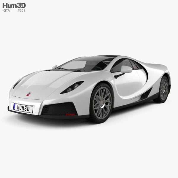 GTA Spano 2013 3D model