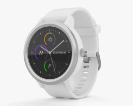 Garmin Vivoactive 3 White with Stainless Hardware 3D model
