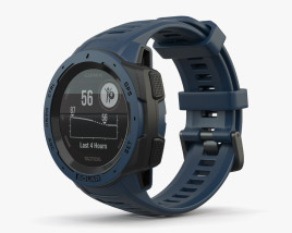 Garmin Instinct Solar Tidal Blue 3D model