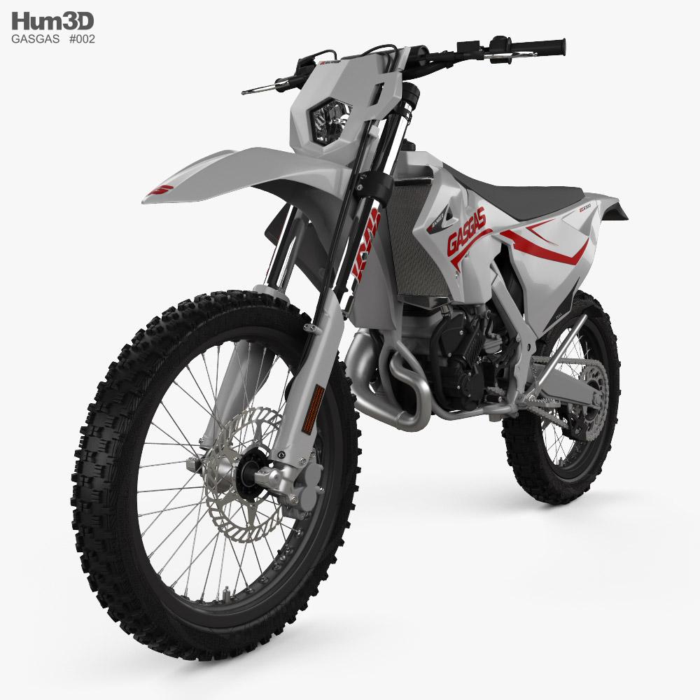 GasGas 200-300 Enduro EC 2019 3D model