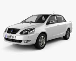 3D model of Geely FC (Vision) 2011