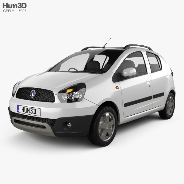 Geely LC Cross (Panda) 2012 3D model