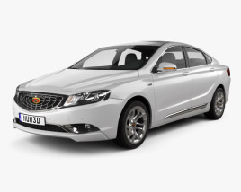 3D model of Geely GC9 2015