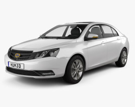 3D model of Geely Emgrand EC7 2014
