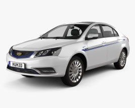3D model of Geely Emgrand EV 2015