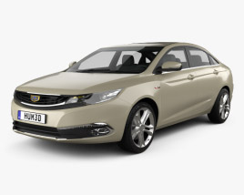 3D model of Geely Emgrand GL 2016