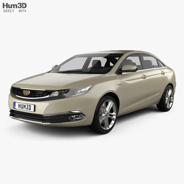 Geely Emgrand GL 2016 3D model