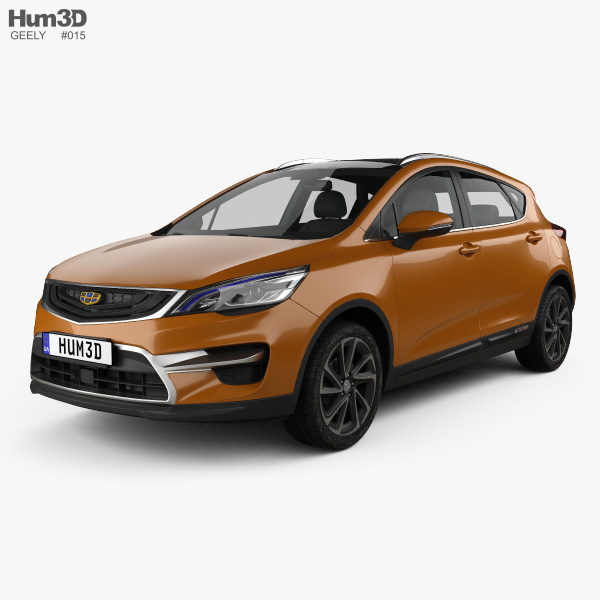 3D model of Geely Emgrand GS Sport 2016