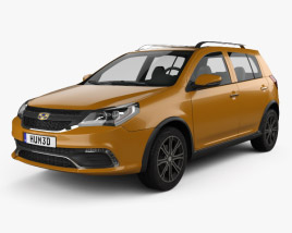 Geely Jingang Cross 2016 3D model