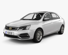 3D model of Geely Emgrand EC7 2018